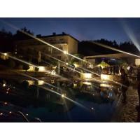 Хотелът вечер 1